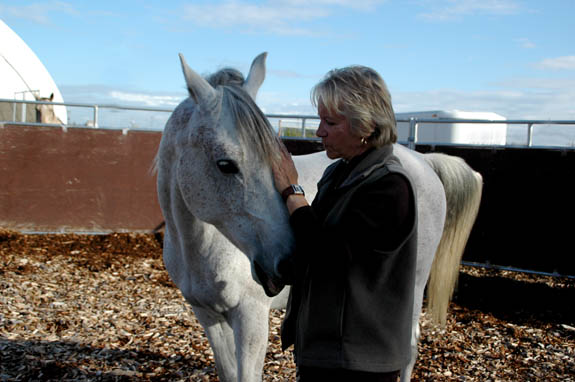 Linda-Ann Bowling facilitator of addiction recovery program Serenity With Horses
